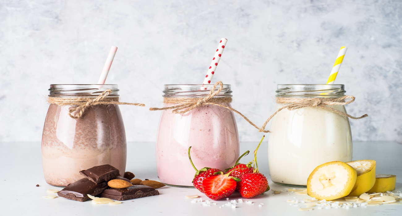 Dairy Drink with 3 jars recipe