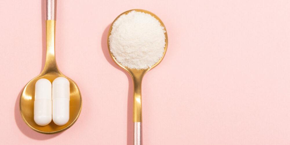 Collagen powder and pills